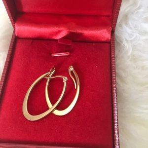 Jewelry - Oval hoop earrings